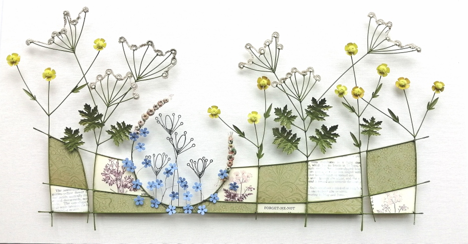 Forget-me-not (£185) 50 x 28 cm